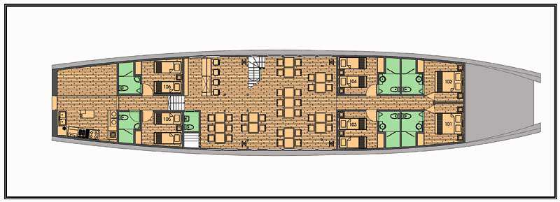 Deck plan 1 Mekong Eyes Classic 570d7
