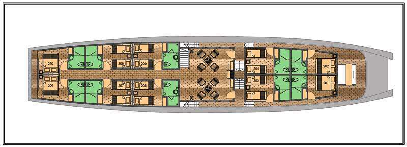 Deck plan 2 Mekong Eyes Classic 4b2db